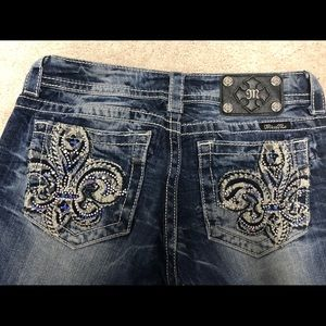 Miss Me Easy Boot Cut Jeans, size 27